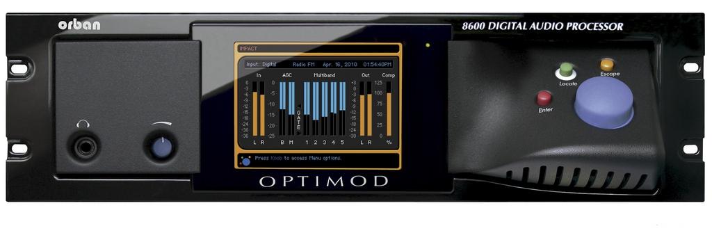 ORBAN OPTIMOD FM 8600